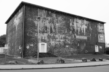 """Der Bunker"", Proberaum des Agora-Kollektivs, 2016, Foto: Johanna Buderath."