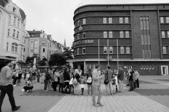Hermannsplatz, Wanne-Eickel, 2016, Foto: Johanna Buderath.